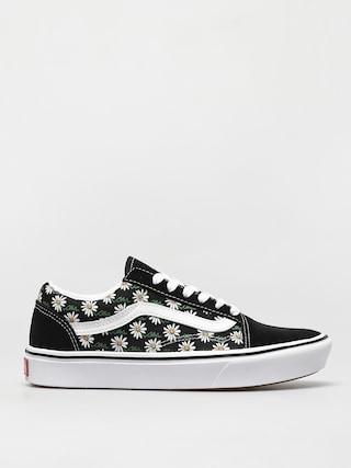 Boty Vans Comfycush Old Skool (scribble flower daisy/black)