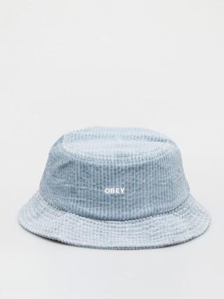 Klobouk OBEY Bold Cord Bucket (ice blue)