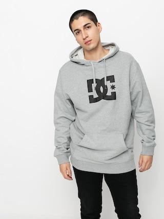 Mikina s kapucí DC Star HD (heather grey)