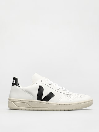 Boty Veja V-10 (leather extra white black)