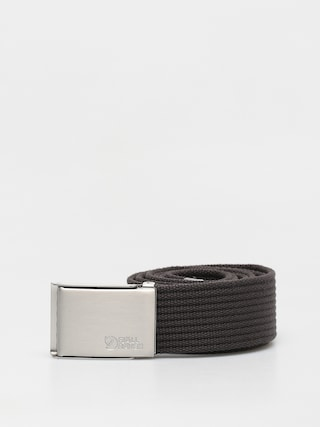 Pu00e1sek Fjallraven Canvas Belt (dark grey)