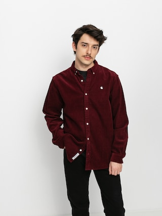 Kou0161ile Carhartt WIP Madison Cord (bordeaux)