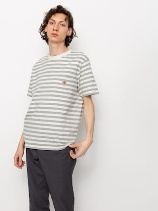 Triu010dko Carhartt WIP Scotty Pocket (scotty stripe/white heather/grey heather)