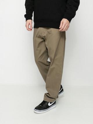 Kalhoty MassDnm Slang Baggy Fit (beige)