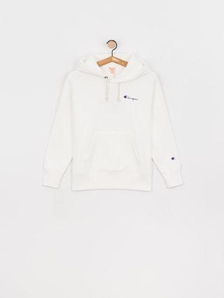 Mikina s kapucu00ed Champion Sweatshirt HD 113150 Wmn (wht)