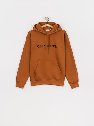 Mikina s kapucí Carhartt WIP Sweat HD (rum/black)