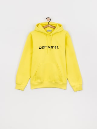Mikina s kapucí Carhartt WIP Sweat HD (limoncello/black)