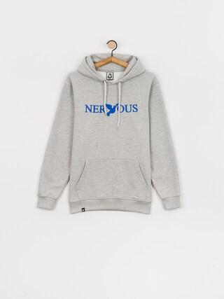 Mikina s kapucí Nervous Classic HD (grey/royal)