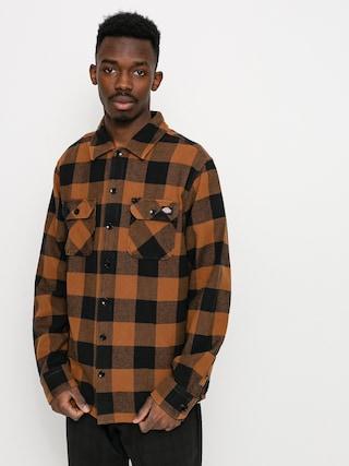 Košile Dickies Sacramento (brown duck)