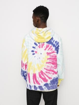 Mikina s kapucu00ed Vans New Age HD (rainbow spectrum tie dye)