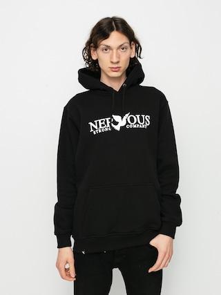 Mikina s kapucí Nervous Classic HD (black)