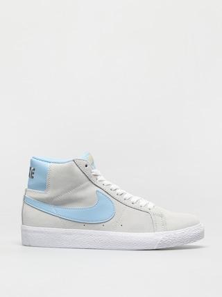 Boty Nike SB Zoom Blazer Mid (photon dust/psychic blue photon dust)