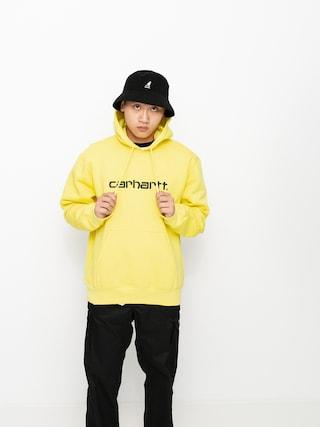 Mikina s kapucu00ed Carhartt WIP Sweat HD (limoncello/black)