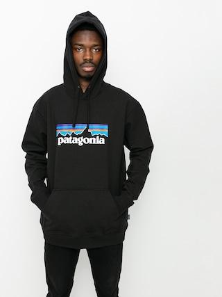 Mikina s kapucu00ed Patagonia P6 Logo Uprisal HD (black)