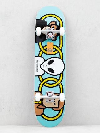 Skateboard Alienworkshop Missing Link (blue)