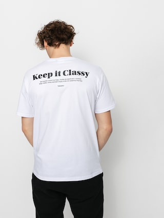 Triu010dko Tabasko Keep It Classy (white)