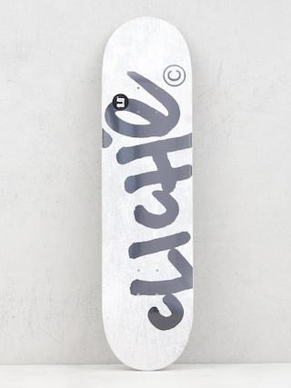 Deska Cliche Handwritten (white)