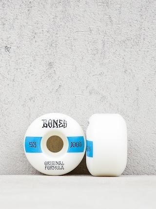 Koleu010dka Bones Og Formula V4 Wide 100A (white/blue)