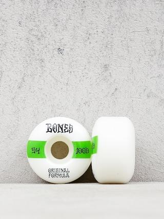 Koleu010dka Bones Og Formula V4 Wide 100A (white/green)