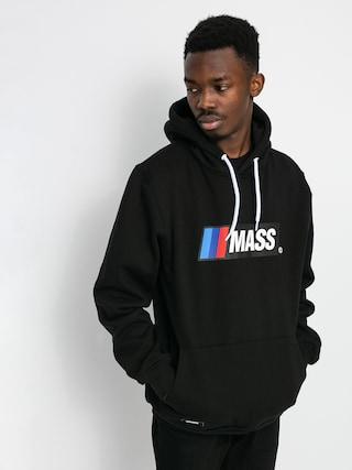 Mikina s kapucí MassDnm Pitstop HD (black)