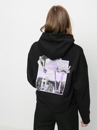 Mikina s kapucí Volcom Voltrip HD Wmn (black)