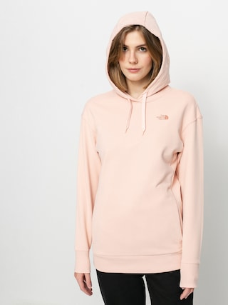 Mikina s kapucí The North Face Pud HD Wmn (evening sand pink)