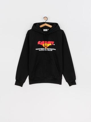 Mikina s kapucí Carhartt WIP Runner HD (black)