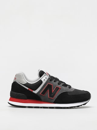 Boty New Balance 574 (black/red)