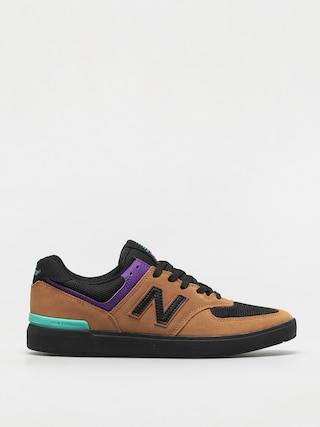 Boty New Balance All Coasts 574 (brown/black)