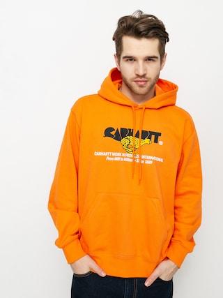 Mikina s kapucí Carhartt WIP Runner HD (hokkaido)
