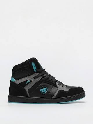 Boty DVS Honcho (black charcoal turquois suede)