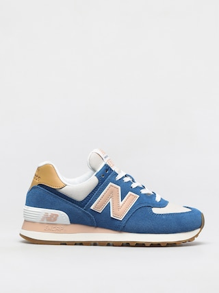 Boty New Balance 574 Wmn (blue/pink)