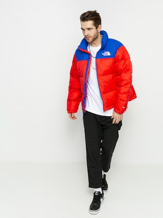 Bunda The North Face 1996 Retro Nuptse (horizon red/tnf blue)