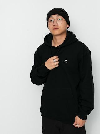 Mikina s kapucí Emerica Stacked HD (black)