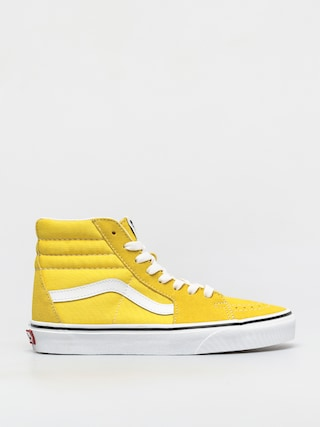 Boty Vans Sk8 Hi (cyber yellow/true white)