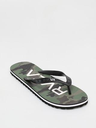 Plu00e1u017eovky RVCA Trenchtown Sandals I (camo)