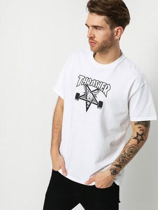 Thrasher Tričko Skate Goat (white)