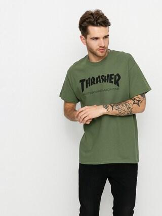 Thrasher Triu010dko Skate Mag (military green)