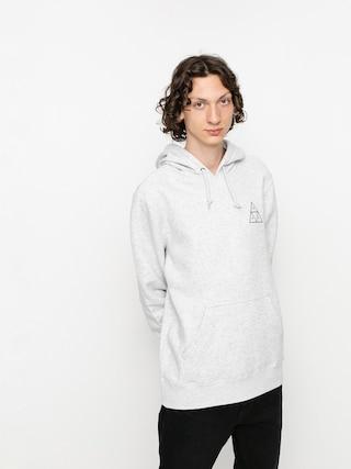 Mikina s kapucí HUF Essentials TT HD (athletic heather)