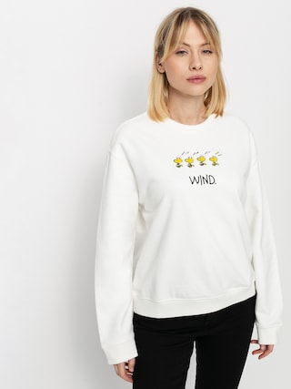 Mikina Element Peanuts Cr Wmn (off white)