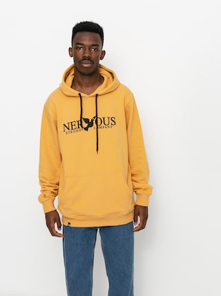 Mikina s kapucí Nervous Classic HD (yellow)