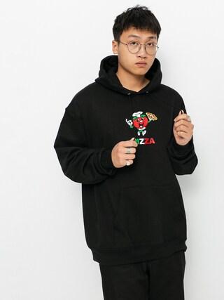 Mikina s kapucí Pizza Skateboards Tomato Chef Champion HD (black)