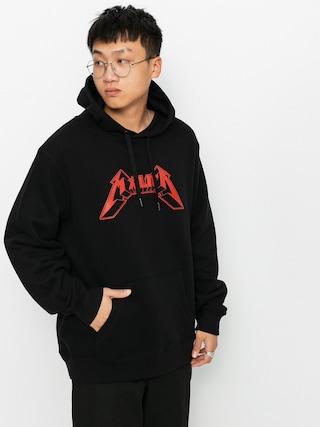 Mikina s kapucí Malita Metallica HD (black)