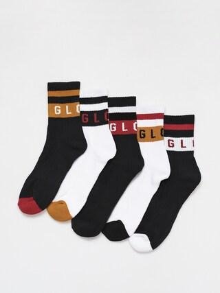 Ponožky Globe Block Wrap 5 Pack (multi)