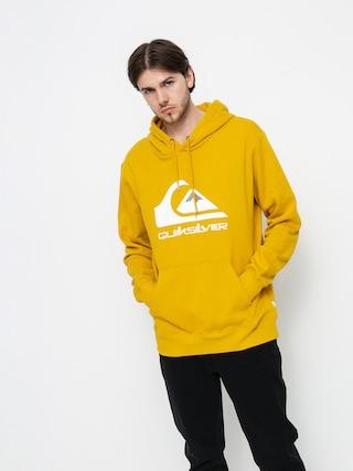 Mikina s kapucí Quiksilver Big Logo HD (nugget gold)