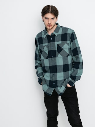 Košile Brixton Bowery Lw Flannel Ls (washed navy/ocean)