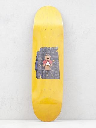 Deska Pizza Skateboards Jesse Vieira Dis Foo (yellow)