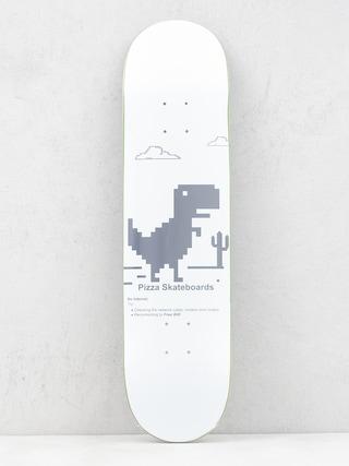 Deska Pizza Skateboards Pizza X Free Wifi (white)