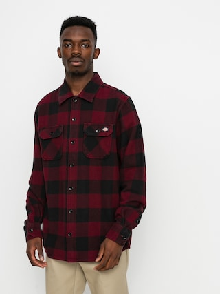 Košile Dickies New Sacramento (maroon)