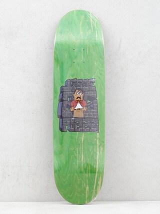 Deska Pizza Skateboards Jesse Vieira Dis Foo (green)